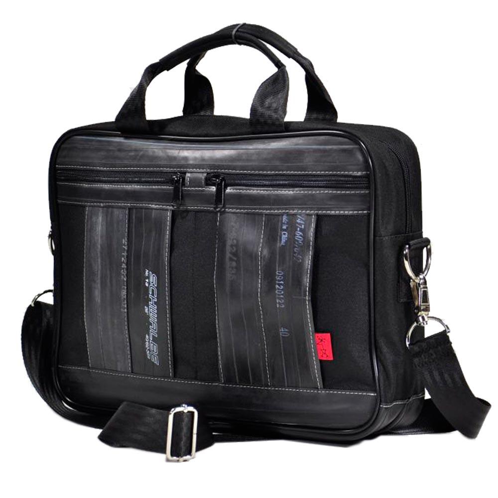 Laptoptasche Filinger schwarz - genug Platz für ein 40 cm breites Laptop