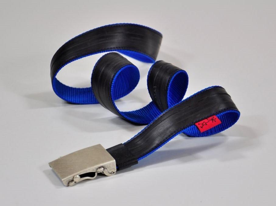 Stef Fauser Gürtel Beltinger blau